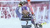 Ski: Worley 2e du géant de Courchevel derrière Shiffrin