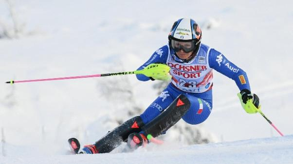 Sci: Moelgg terza in gigante Courchevel