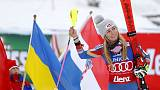 Alpine skiing - Dominant Shiffrin wins again
