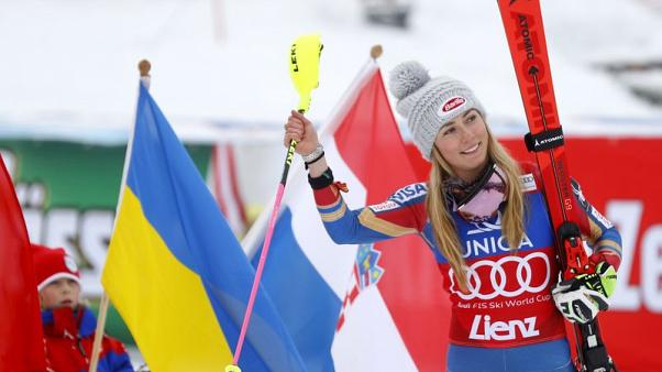 Alpine skiing - Dominant Shiffrin wins again