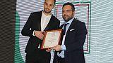 Italian sport awards a De Sisti e Rocchi