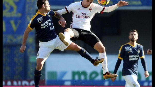 Milan: Fassone, ko Verona umiliazione