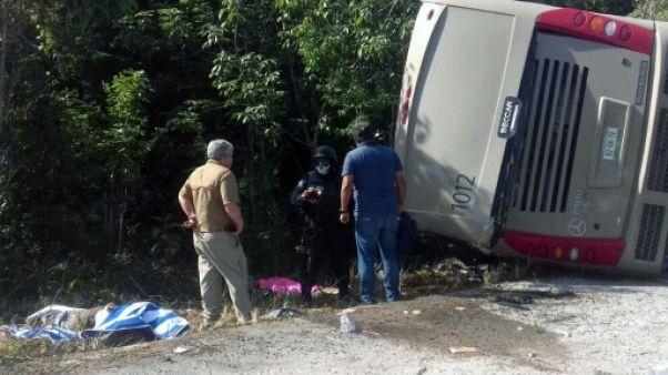 Accident de car au Mexique: 12 touristes tués dont au moins un Américain