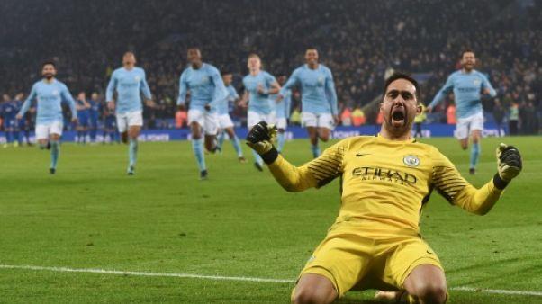 Coupe de la Ligue anglaise: City et Arsenal en demies