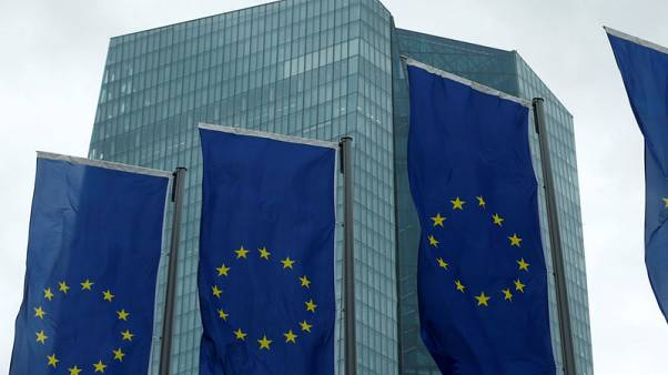 Euro zone wage growth pulls back from two-year high