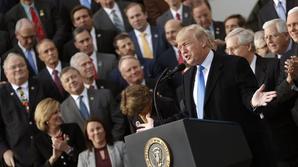 U.S. House approves sweeping tax bill in a win for Trump