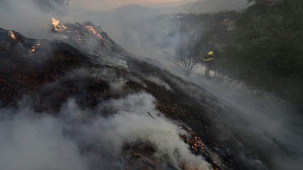 """Incendie """"Thomas"""": la Californie en alerte face au retour de vents violents"""