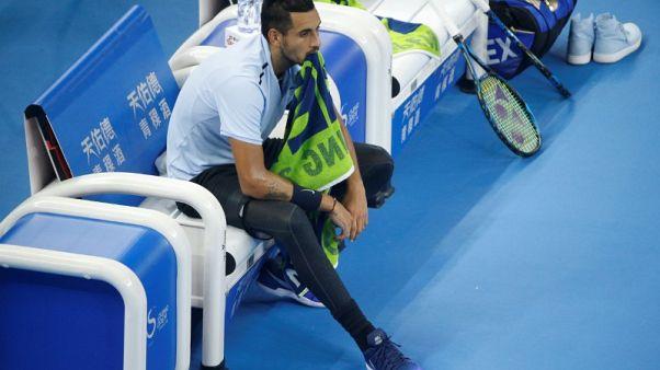 كيريوس سيبقى بلا مدرب في بداية موسم التنس الجديد
