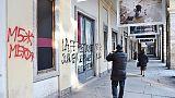 Torino, scritte su Urban Center, sfregio