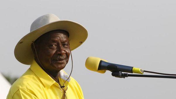 مشاجرة في برلمان أوغندا أثناء مناقشة قانون يسمح بتمديد حكم الرئيس