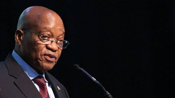 South Africa's Zuma rejects reports his office is drafting emergency laws
