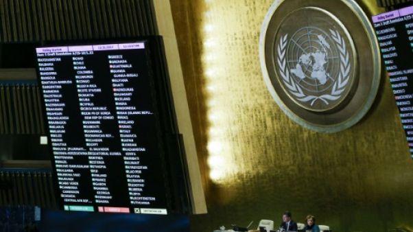 Jérusalem: les Etats-Unis condamnés à l'ONU malgré les menaces de Trump