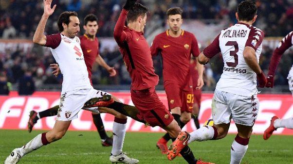 C.Italia: il Torino elimina la Roma
