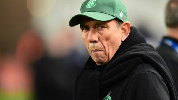 Ligue 1: Gasset nommé entraîneur de Saint-Etienne à la place de Sablé