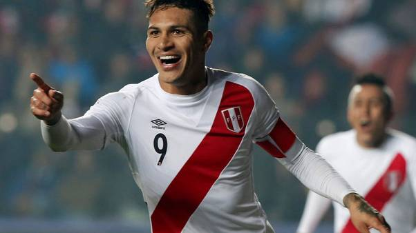 Soccer - Peru captain Guerrero free to play at World Cup after ban cut