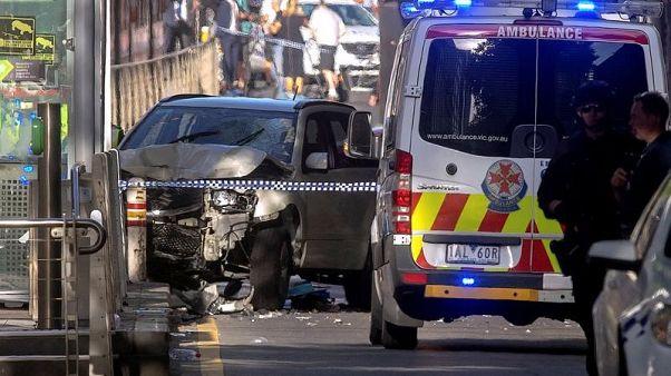 شرطة استراليا: حادث دهس مشاة في ملبورن متعمد