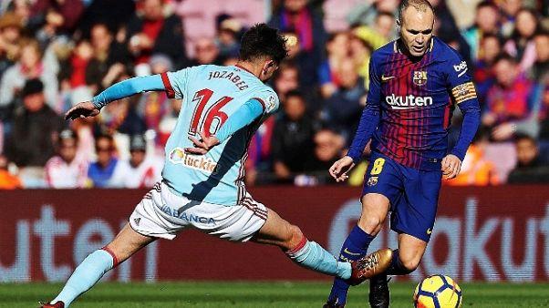 Iniesta:Real si batte col possesso palla