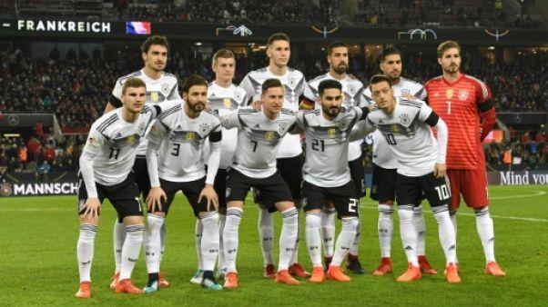 Classement Fifa: l'Allemagne toujours en tête, la France 9e