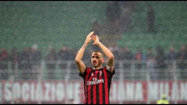 """Milan: """"Bonucci crede nel progetto"""""""
