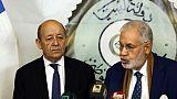 En Libye, le ministre français Le Drian appelle à des élections rapides