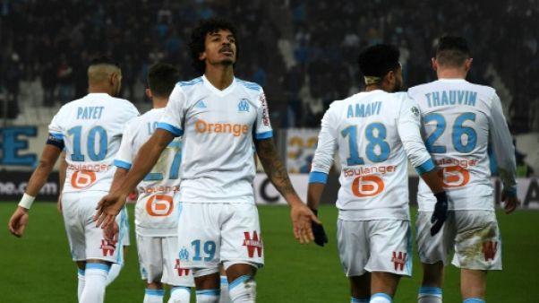 """Ligue 1: """"Bon temps de passage"""" pour Marseille"""