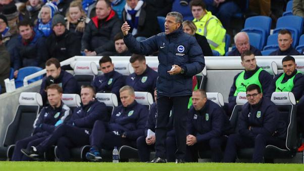 Brighton boss Hughton targets striker in January window