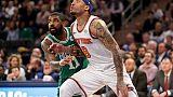 NBA: Cleveland et New York assurent, Boston et San Antonio trébuchent