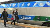 JO 2018: la Corée du Sud inaugure la ligne de train à grande vitesse