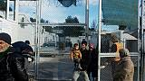 """Deuxième hiver dans le froid et la crasse à Moria, """"ville"""" migratoire de Lesbos"""