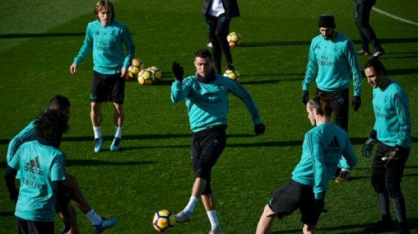 """Real Madrid: Ronaldo de retour """"à 100%"""" à la veille du clasico"""