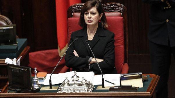 Boldrini, pronta a scegliere la strada