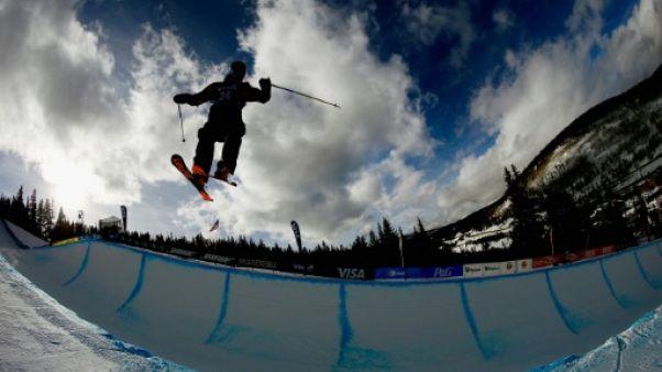 Ski Freestyle: victoire du Français Krief en half pipe à Secret Garden