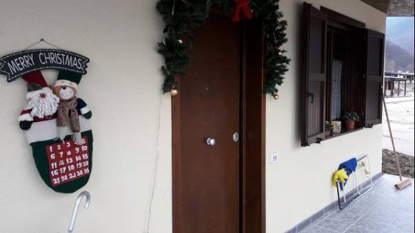 Natale nelle casette del sisma