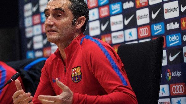 Valverde, nel Clasico punti non contano