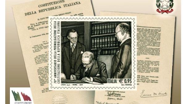Costituzione italiana compie 70 anni