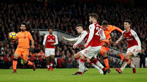 Arsenal and Liverpool share spoils in six-goal thriller