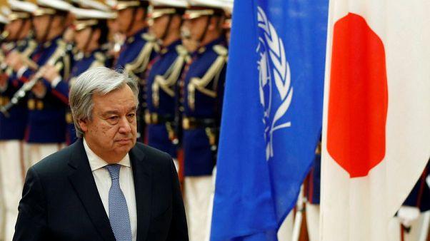 U.N.'s Guterres warns against 'sleepwalking' into war over North Korea