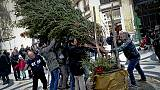 Natale: a Napoli torna albero rubato