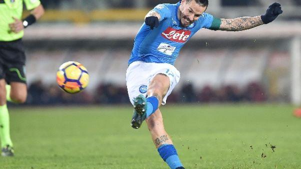 Napoli: 116 gol, Hamsik n.1 cannonieri