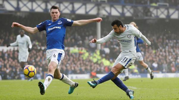 Everton hold out for 0-0 draw at home to Chelsea