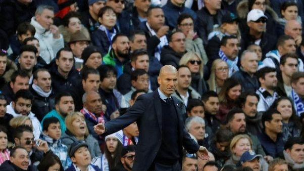 """Real: Zidane """"Sconfitta che brucia"""""""