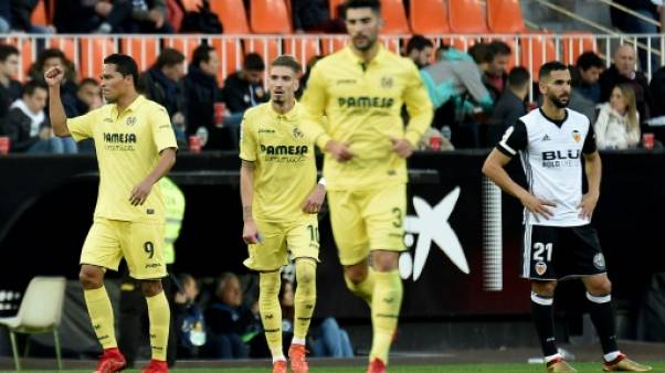 Espagne: Valence chute à domicile contre Villarreal (0-1)