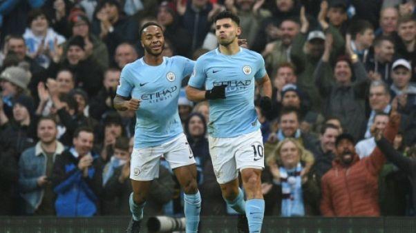 Angleterre: avec un 17e succès, Manchester City s'échappe un peu plus