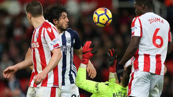 Stoke victory eases pressure on manager Hughes