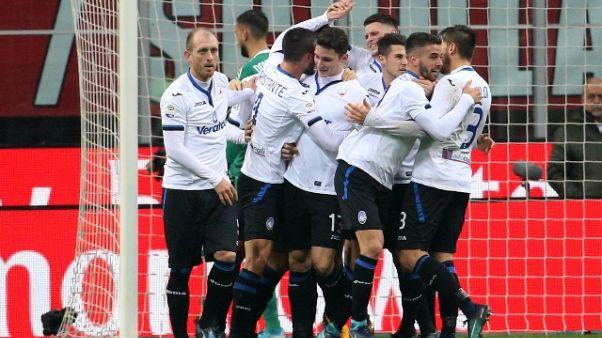 Serie A: Milan-Atalanta 0-2