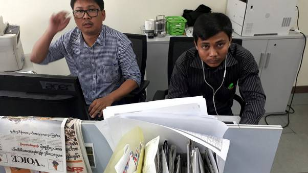 U.N. chief presses for release of arrested Reuters journalists in Myanmar