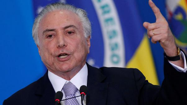 Brazil's Temer delays pension-vote talks as he recovers after surgery