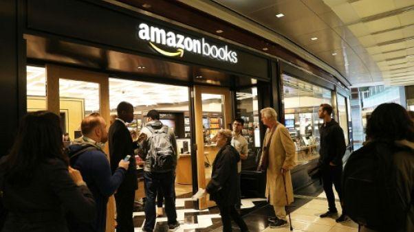 Les librairies Amazon continuent d'ouvrir aux Etats-Unis