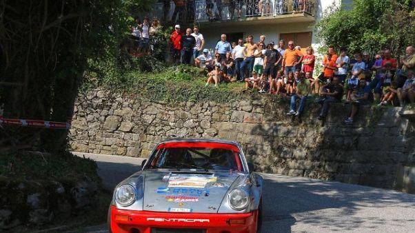 Da Zanche punta al vertice Rally europei