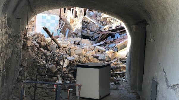 "Sisma,San Pellegrino ""presepe"" distrutto"
